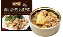 家バル 鶏肉とジャガイモの香草煮 (缶詰)