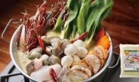 海鮮グリーンカレー鍋