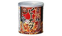 四川料理しびれ王 麻辣ピーナッツ 花椒入り (120g 缶入り)